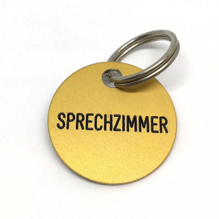 """Schlüsselanhänger """"Sprechzimmer"""""""