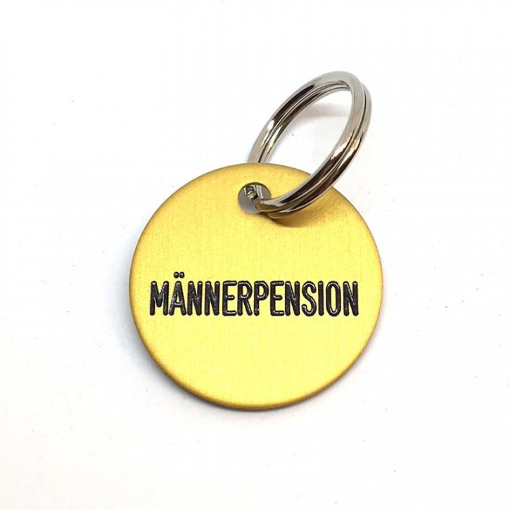 """Schlüsselanhänger """"Männerpension"""""""