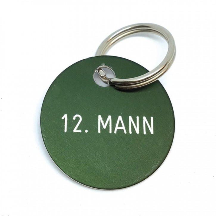 """Schlüsselanhänger """"12. Mann"""""""