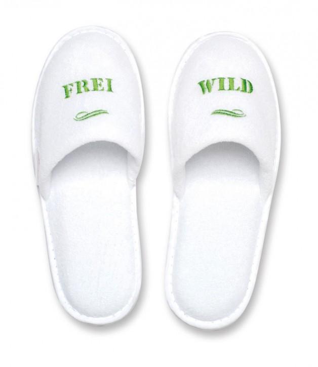 "Slipper ""Frei Wild"""