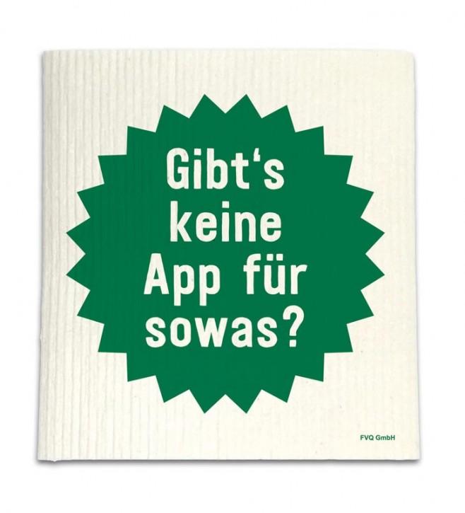 """Spüllappen """"App"""""""