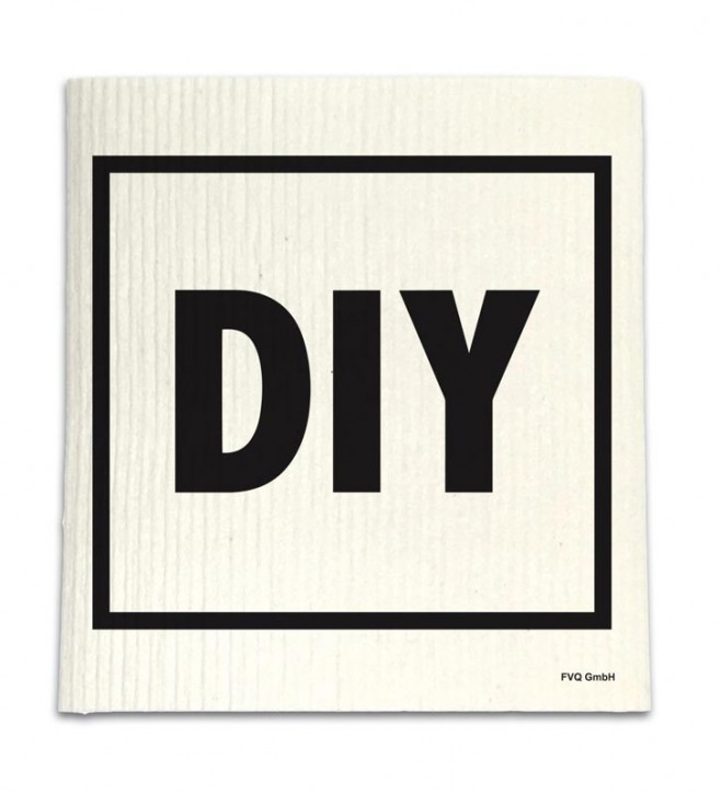 "Spüllappen ""DIY"" - Do it yourself"