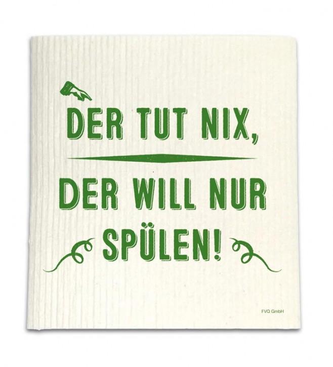 "Spüllappen ""Der tut nix"""