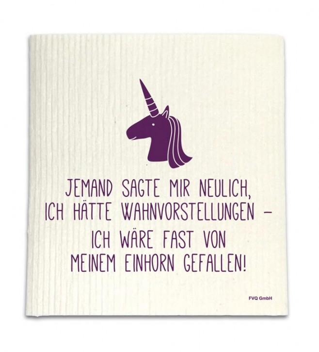 """Spüllappen """"Einhorn"""""""
