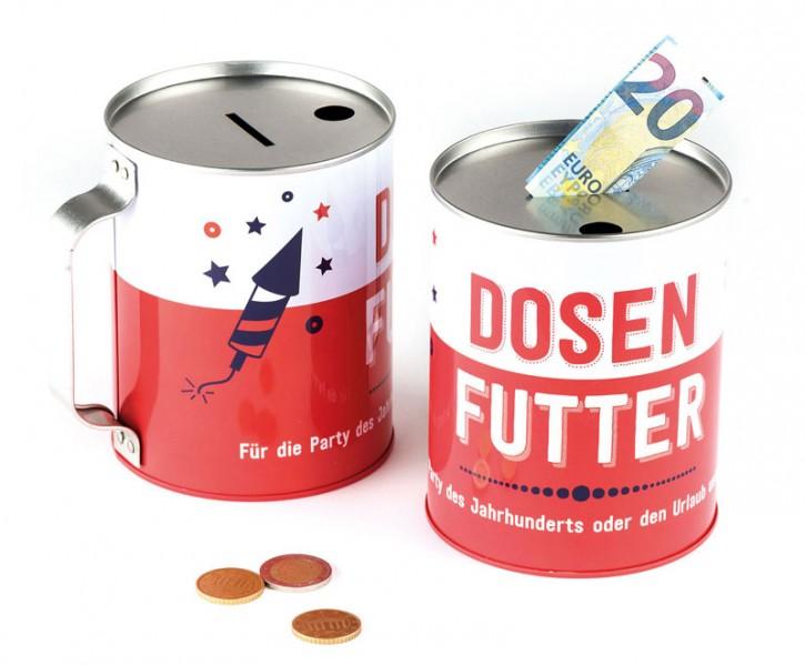 "Spendendose ""Dosenfutter"""