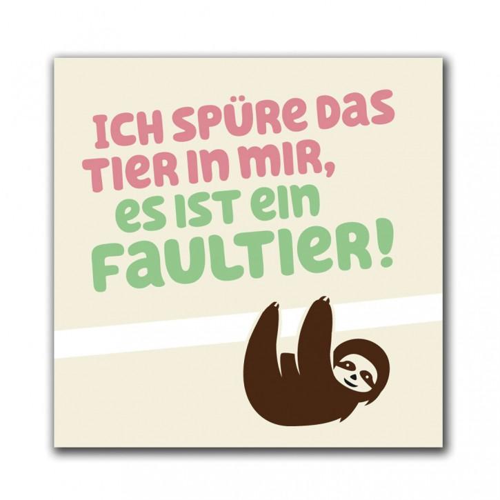 """Magnet """"Faultier"""""""