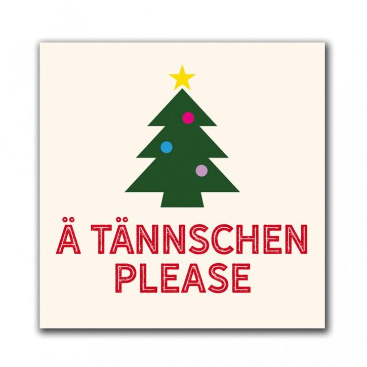 """Magnet """"Ä Tännschen Please"""""""