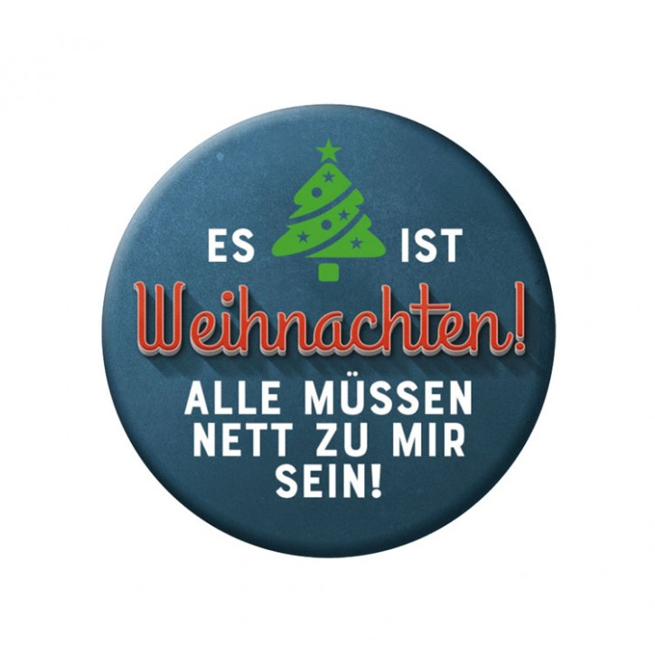 """Button """"Weihnachten"""""""