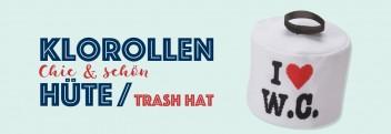 Klorollen-Hüte