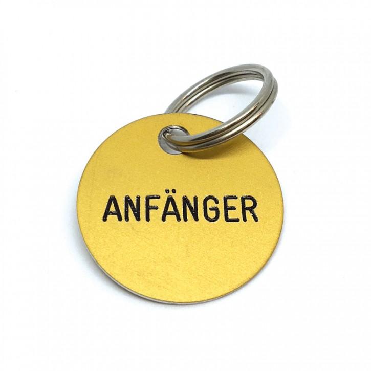 "Schlüsselanhänger ""Anfänger"""