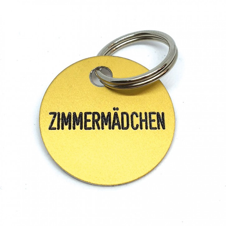"""Schlüsselanhänger """"Zimmermädchen"""""""
