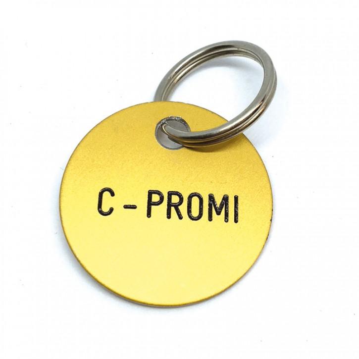 """Schlüsselanhänger """"C-Promi"""""""