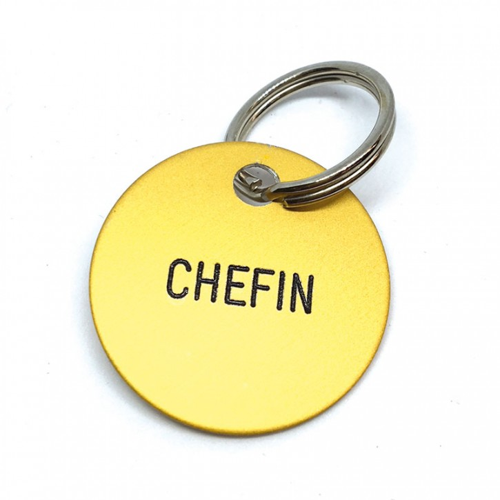 """Schlüsselanhänger """"Chefin"""""""