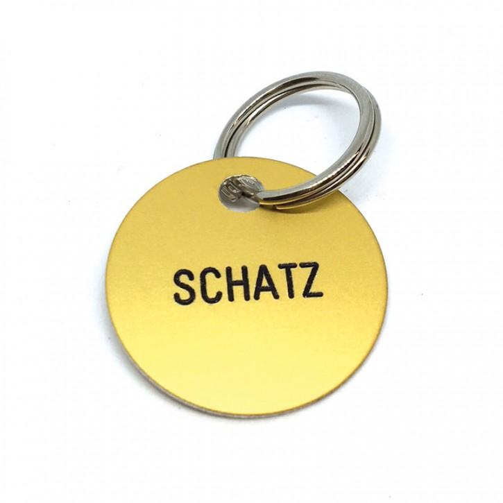"Schlüsselanhänger ""Schatz"""