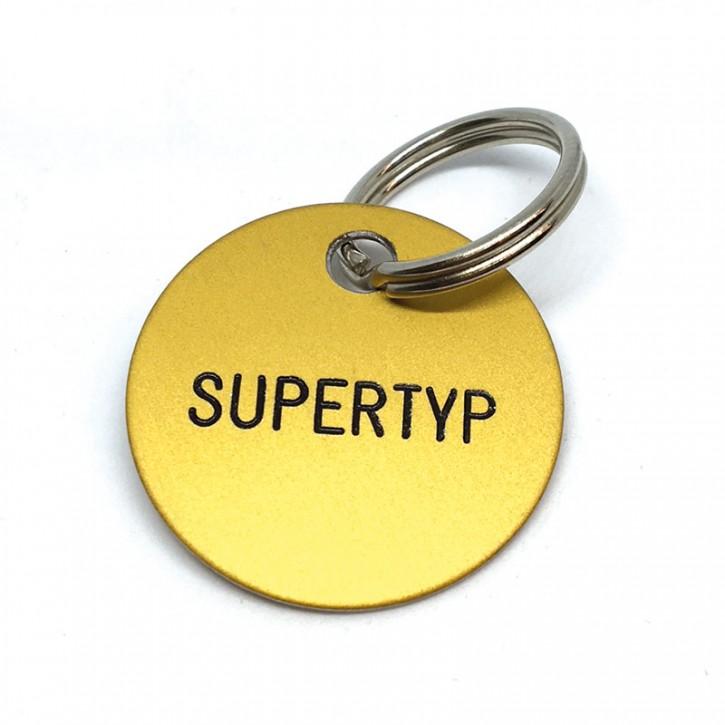 """Schlüsselanhänger """"Supertyp"""""""