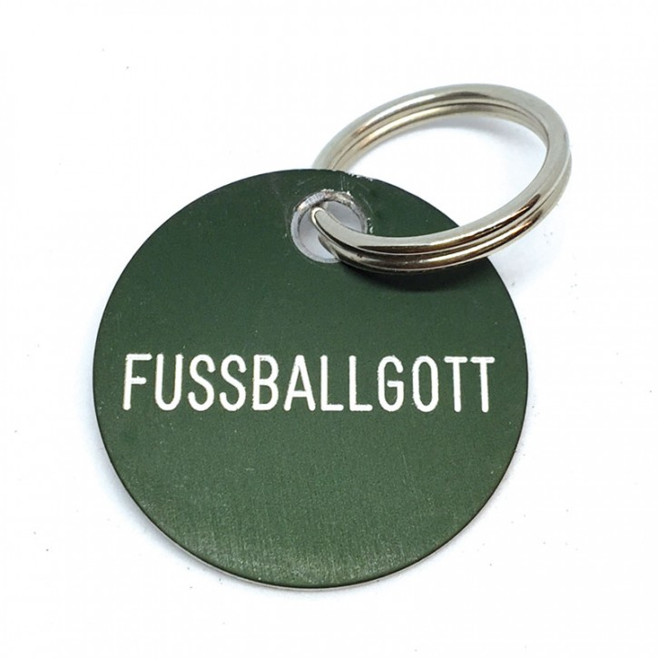 """Schlüsselanhänger """"Fussballgott"""""""
