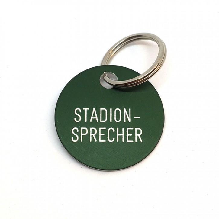 """Schlüsselanhänger """"Stadionsprecher"""""""