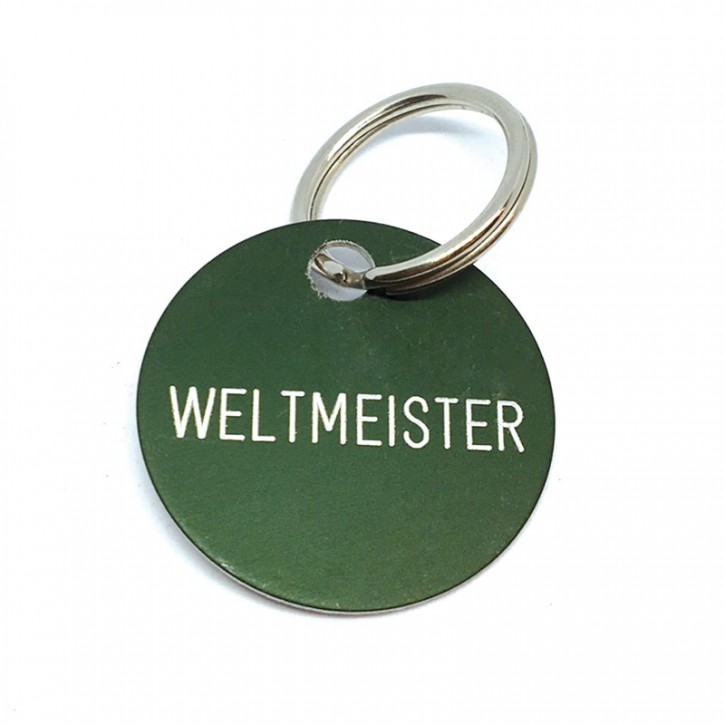 "Schlüsselanhänger ""Weltmeister"""