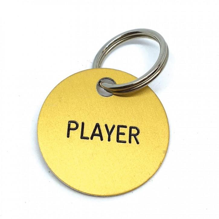 """Schlüsselanhänger """"Player"""""""