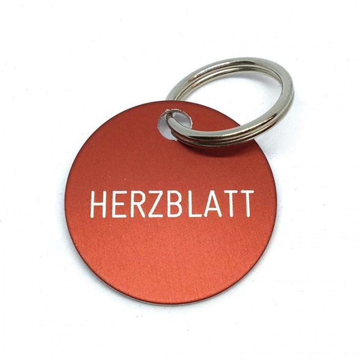 "Schlüsselanhänger ""Herzblatt"""