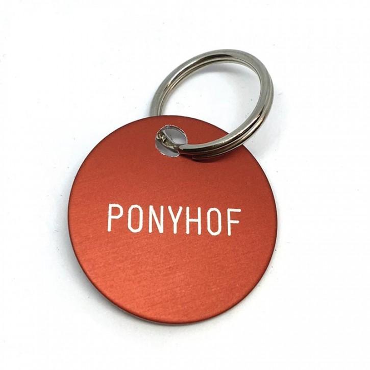 """Schlüsselanhänger """"Ponyhof"""""""