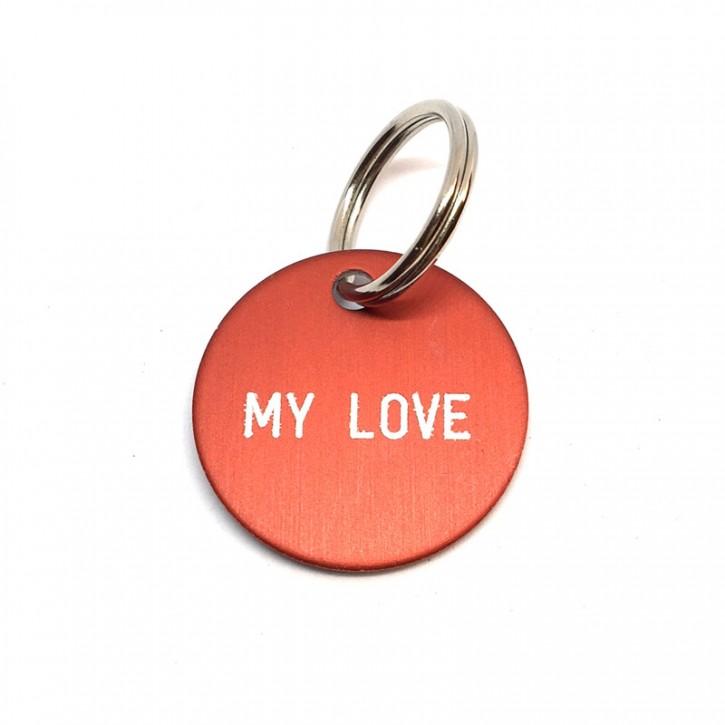 """Schlüsselanhänger """"My Love"""""""