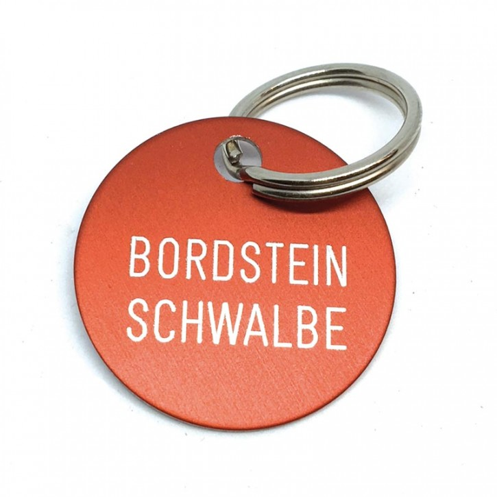 """Schlüsselanhänger """"Bordstein Schwalbe"""""""