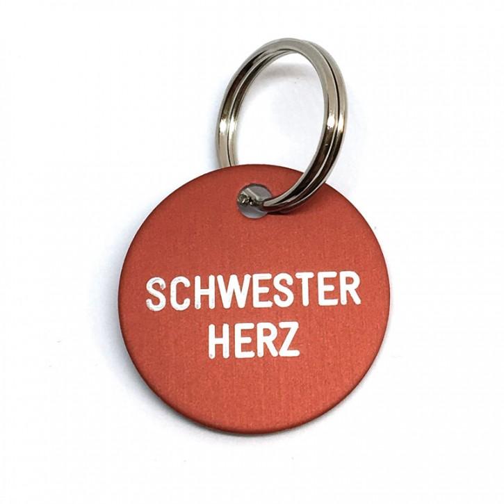 """Schlüsselanhänger """"Schwester Herz"""""""