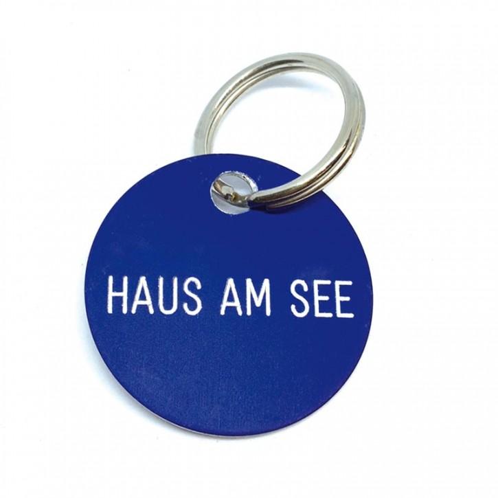 """Schlüsselanhänger """"Haus am See"""""""
