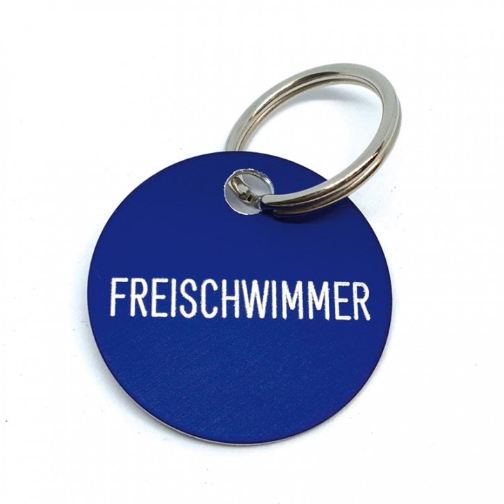"""Schlüsselanhänger """"Freischwimmer"""""""