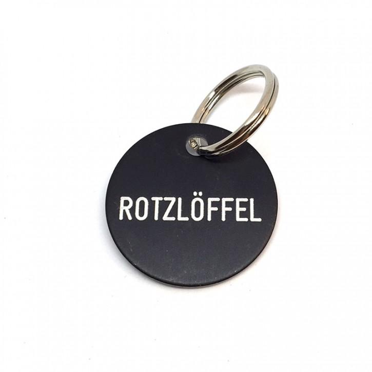 "Schlüsselanhänger ""Rotzlöffel"""