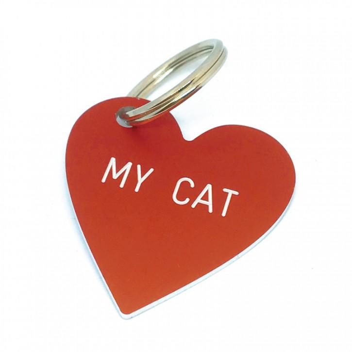 "Herz Anhänger ""MY CAT"""