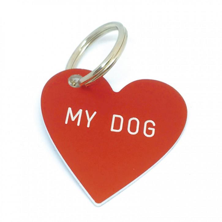 """Herz Anhänger """"MY DOG"""""""