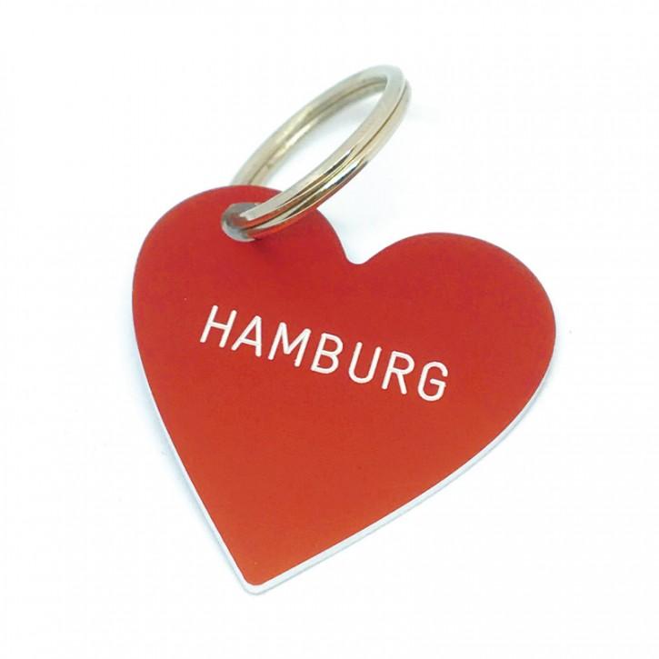 """Herz Anhänger """"HAMBURG"""""""