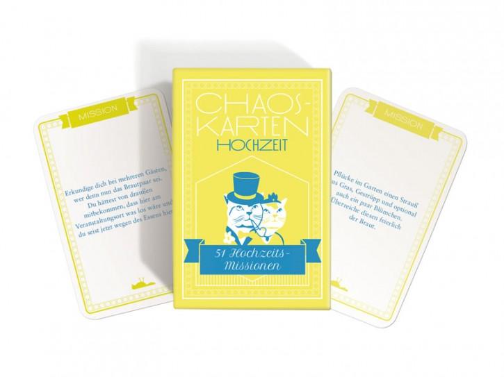 """Chaos-Karten """"Hochzeit"""""""