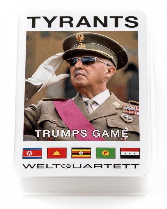"""Quartett """"Tyrants"""" (englisch)"""