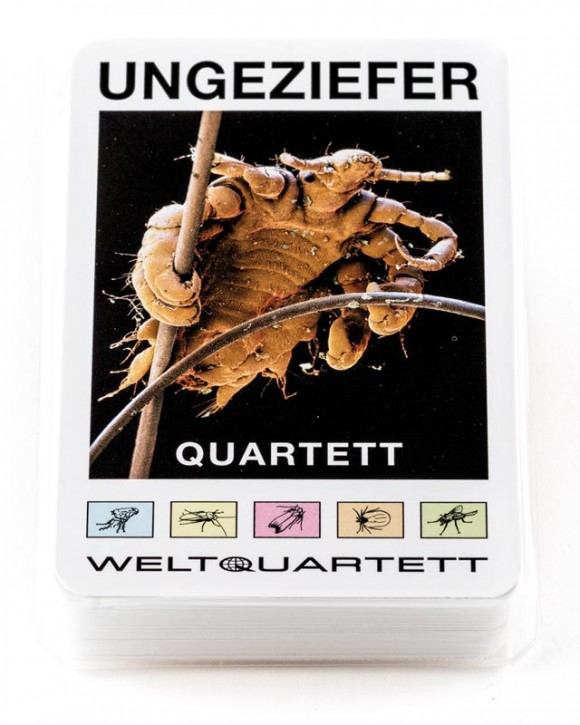 "Quartett ""Ungeziefer"""