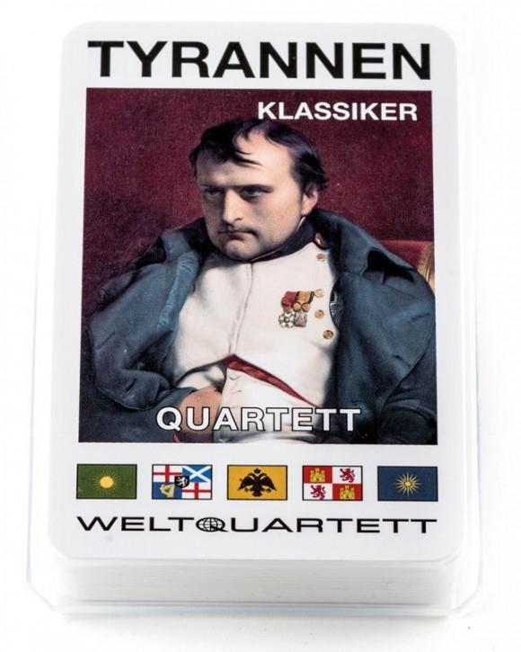 """Quartett """"Tyrannen Klassiker"""""""