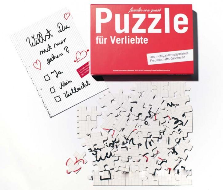 """Puzzle """"Für Verliebte"""""""