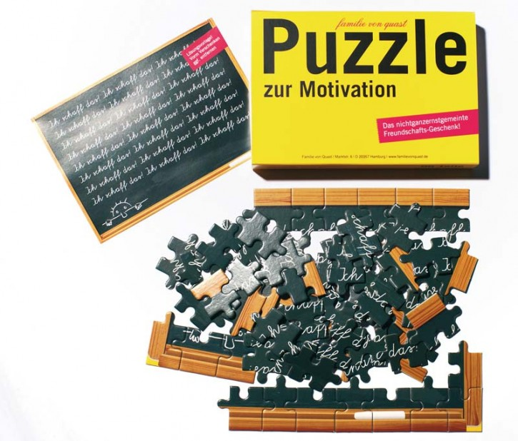 "Puzzle ""Zur Motivation"""
