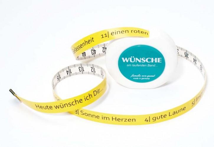"""Rollmaßband """"Wünsche"""""""