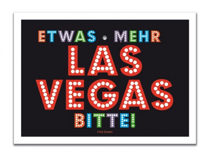 """Saugnapfschild """"Las Vegas"""""""
