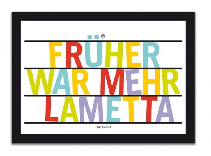 "Saugnapfschild ""Lametta"""