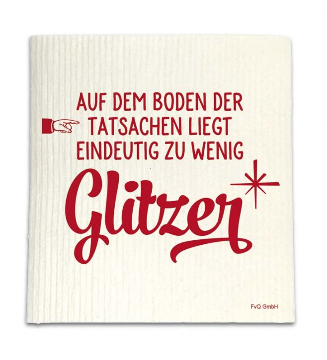 "Spüllappen ""Glitzer"""