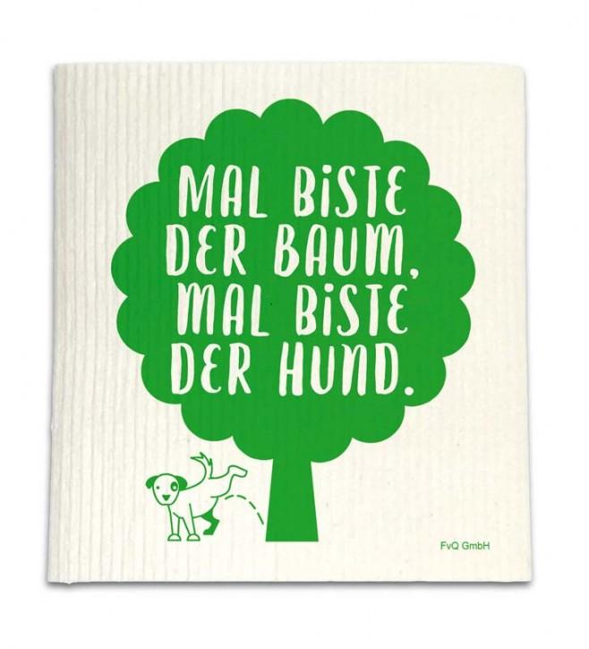 """Spüllappen """"Mal biste der Baum"""""""