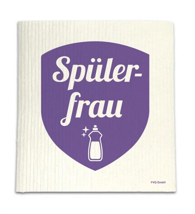 """Spüllappen """"Spülerfrau"""""""