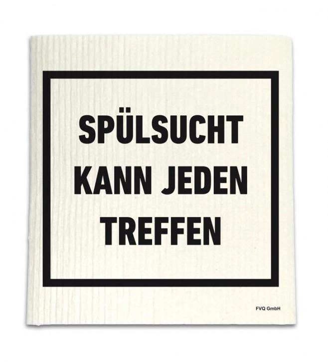 """Spüllappen """"Spülsucht"""""""