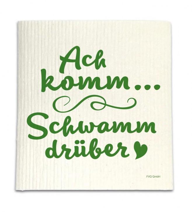 """Spüllappen """"Schwamm drüber!"""""""
