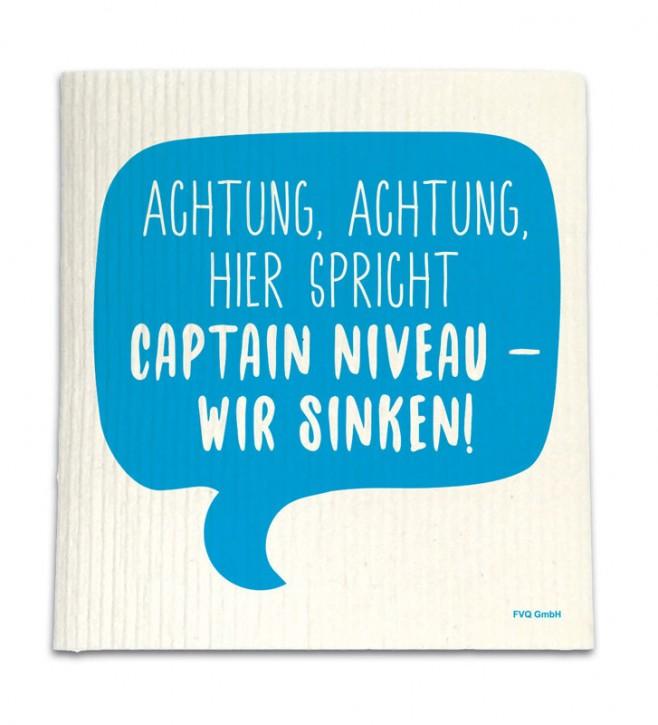 """Spüllappen """"Captain Niveau"""""""