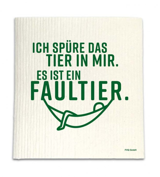 """Spüllappen """"Faultier"""""""
